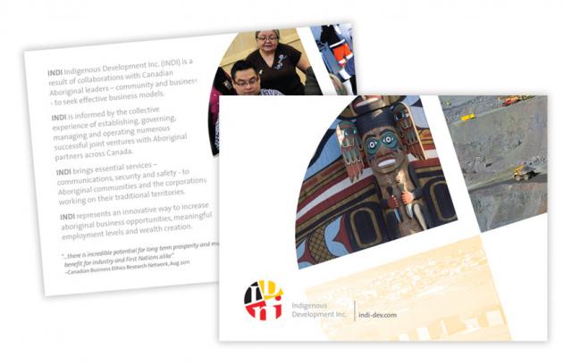 Indigenous Development Inc.—Brochure Design