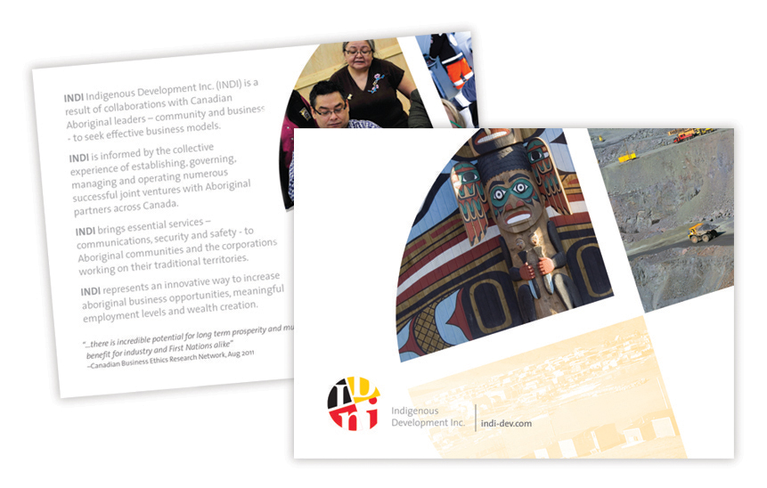 Indigenous Development Inc.—Brochure Design