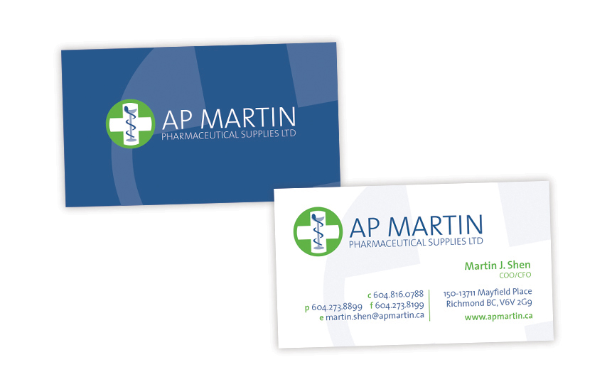 AP Martin—Business Card Design