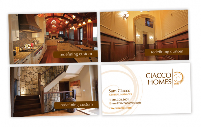 Ciacco Homes—Logo and Business Card Design