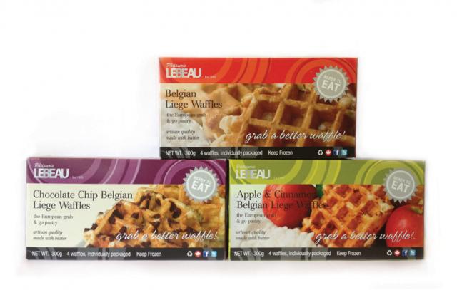 Patisserie Lebeau—Liege Waffle Packaging