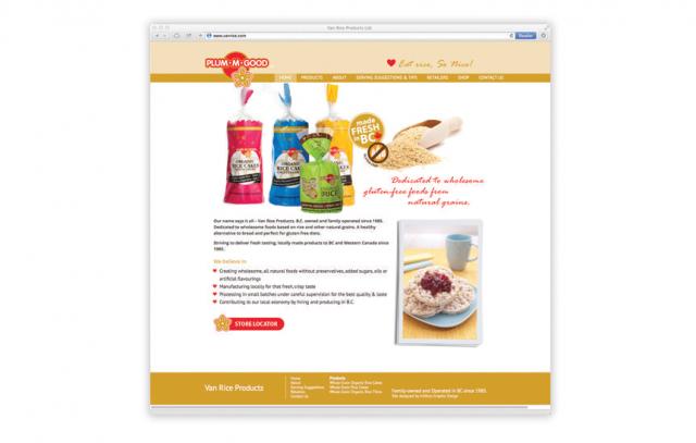 Plum•M•Good—Website Design