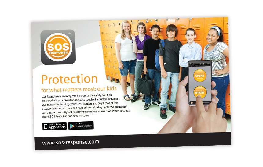 SOS Response—Magazine Ad Design