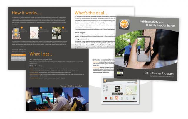 SOS Response—Brochure Design