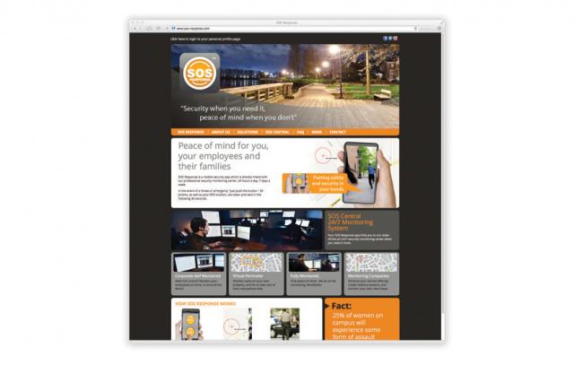 SOS Response—Website Design