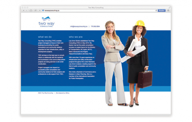 Two Way Consulting—Website Design