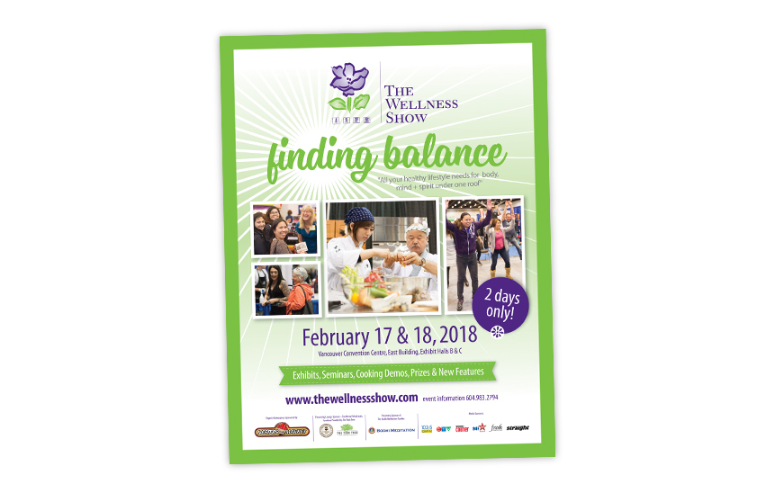 The Wellness Show—Advertising for the 2018 Show