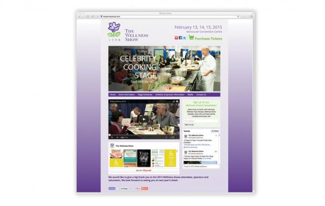 The Wellness Show—Website Design
