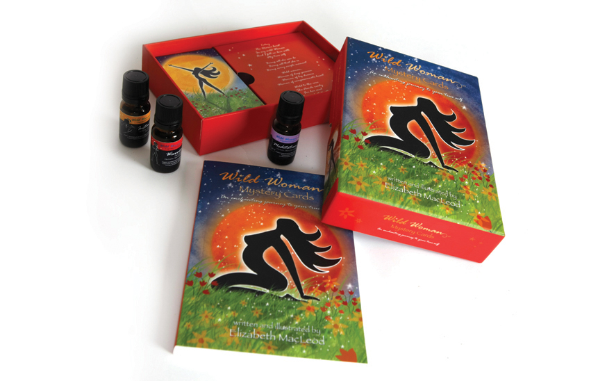 Wild Woman Enchanted—Mystery Cards Packaging